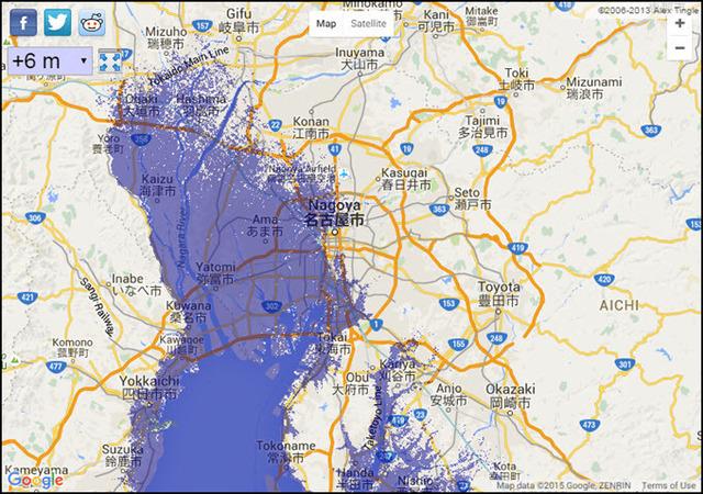 6 meter sea level rise Nagoya.jpg