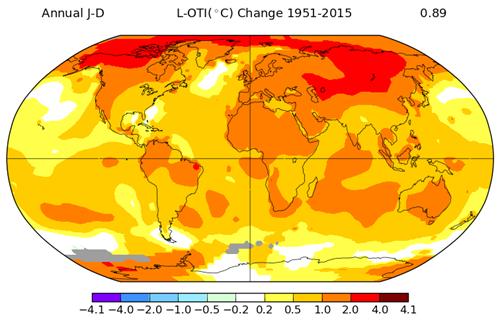 NASA GISS Annual Global Temp Trend 1951-2015.png